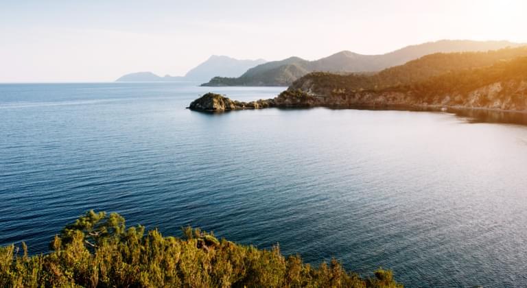 Türkische Riviera Panorama