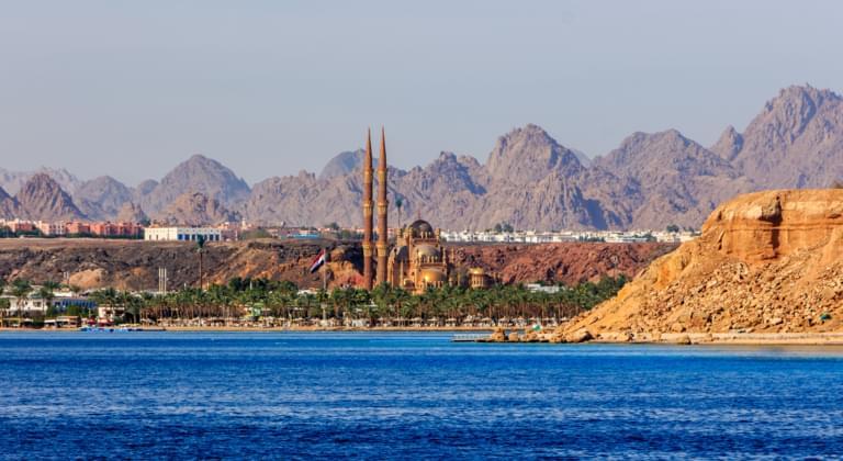 Blick auf Sharm El Sheikh