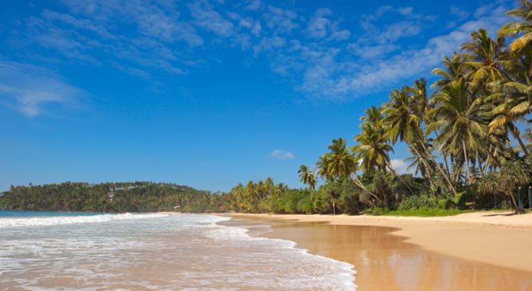 Strand in Sri Lanka