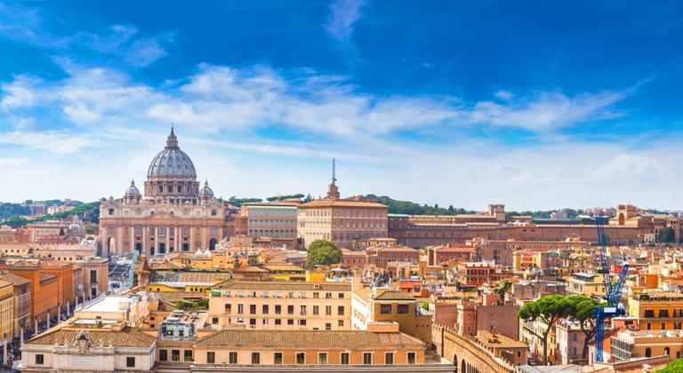 Panorama Rom, Italien
