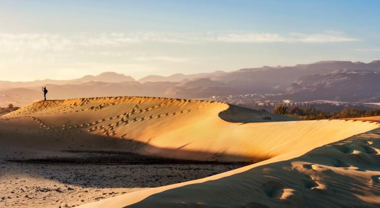 Maspalomas Sanddünen Gran Canaria