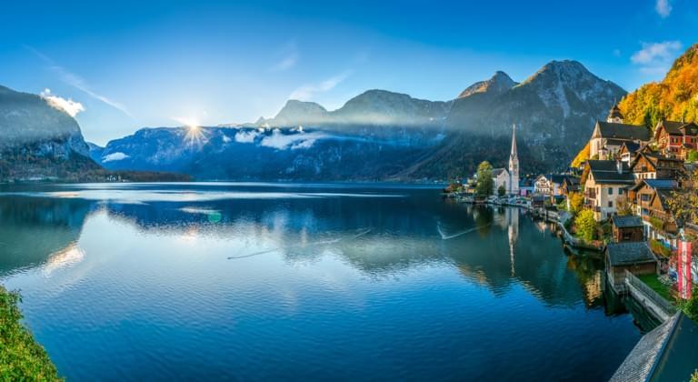 Hallstätter See in Österreich