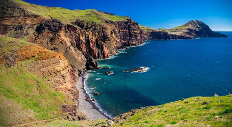 Küste von Madeira, Portugal
