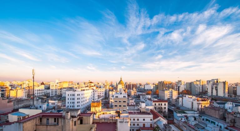 Buenos Aires Luftansicht