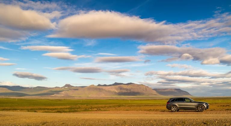 Geländewagen in Island