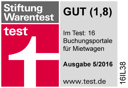 Stiftung Warentest - Gut (1,8)